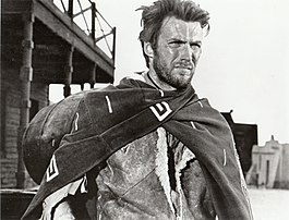 Clint Eastwood als The Man With no Name