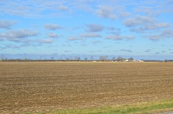Fields on State Route 108, south of Wauseon