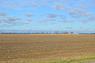 Clinton Township, Fulton County, Ohio - Fields on State Route 108, south of Wauseon