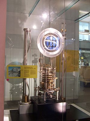 Clock of the Long Now - The first prototype, on display at the Science Museum in London.