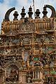 Close up view of the Gopuram at Sri YogaNarasimha Temple , Melkote.jpg