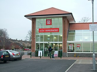 Long Stratton - The Co-op supermarket on The Street