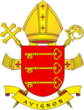 Coat of Arms od archdiocese of Avignon.png
