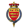 Coat of Arms of Richard Luce, Baron Luce, KG, GCVO, PC, DL.png