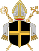 Coat of arms of Diocese of Rottenburg-Stuttgart.png