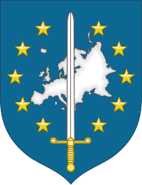 Coat of arms of Eurocorps.svg