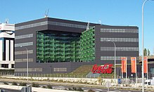 Coca Cola Company S Office Building In Madrid Spain