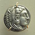 Coin - Silver - Circa 336-323 BCE - Alexander Reign - ACCN C13903 - Indian Museum - Kolkata 2014-04-04 4279.JPG