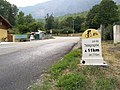 Col du Telegraphe - first signpost with data of the climb.jpg