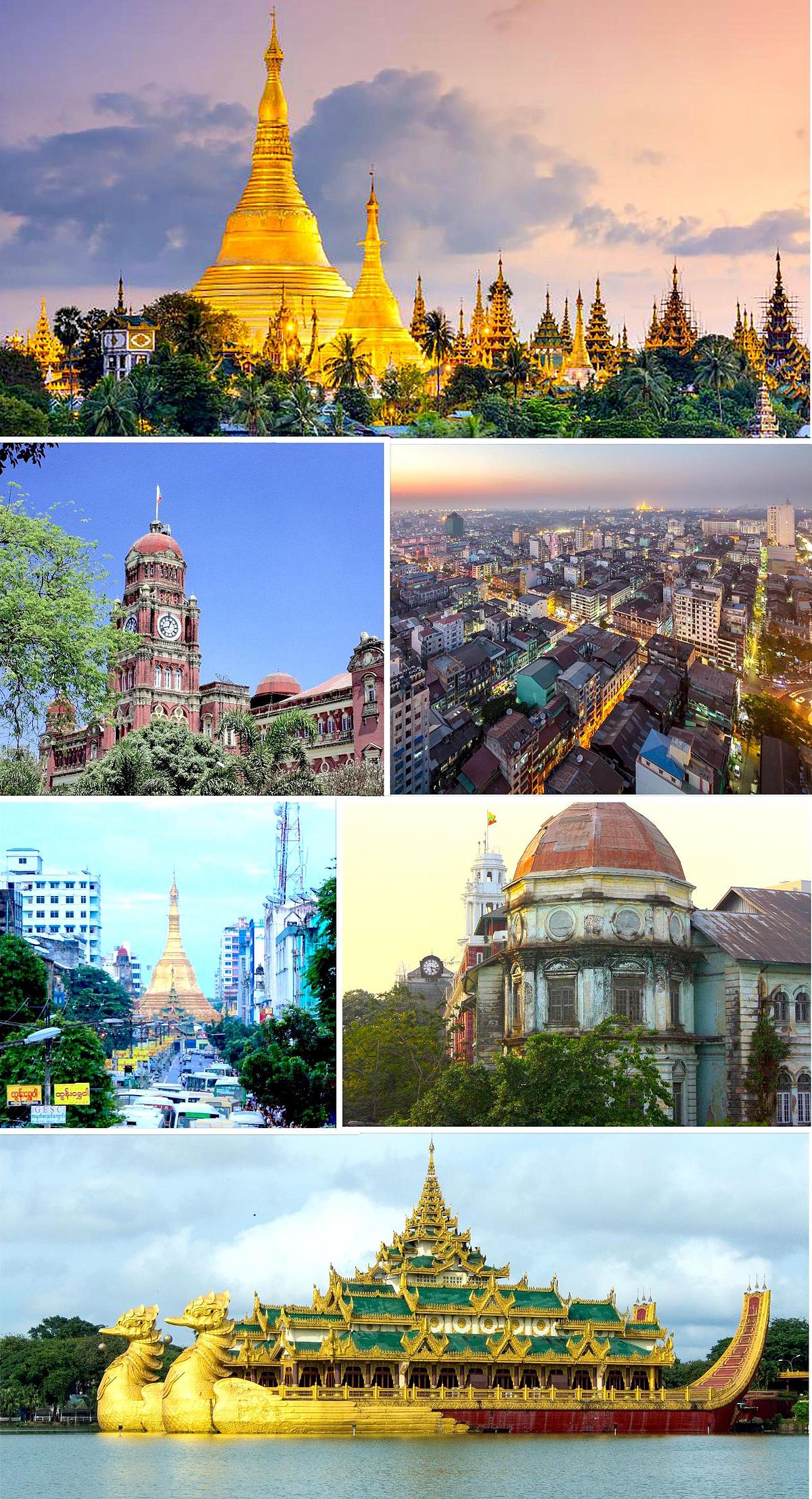 Yangon - the capital of which country Yangon, Myanmar: description, history, population, economy, sights 58