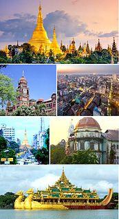 Yangon Metropolitan City in Yangon Region, Myanmar