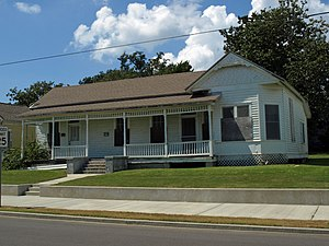 National Register of Historic Places listings in Jackson County, Mississippi - Image: Colle Company Housing Sept 2012 02