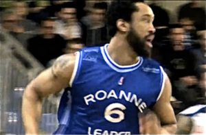 Coleman Collins - Collins playing in the French Pro A, in 2012.