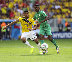 Colombia and Ivory Coast match at the FIFA World Cup 2014-06-19 (18).jpg