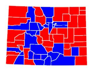 United States Senate election in Colorado, 2004 - Image: Colorado 2004 senate