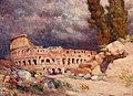 Colosseaum in a storm by Alberto Pisa (1905).jpg