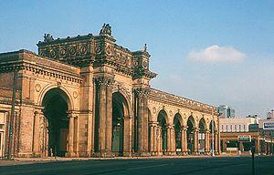 Union Station (Columbus, Ohio) - The third Columbus Union Station in June 1970