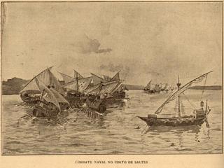 Battle of Saltes Island