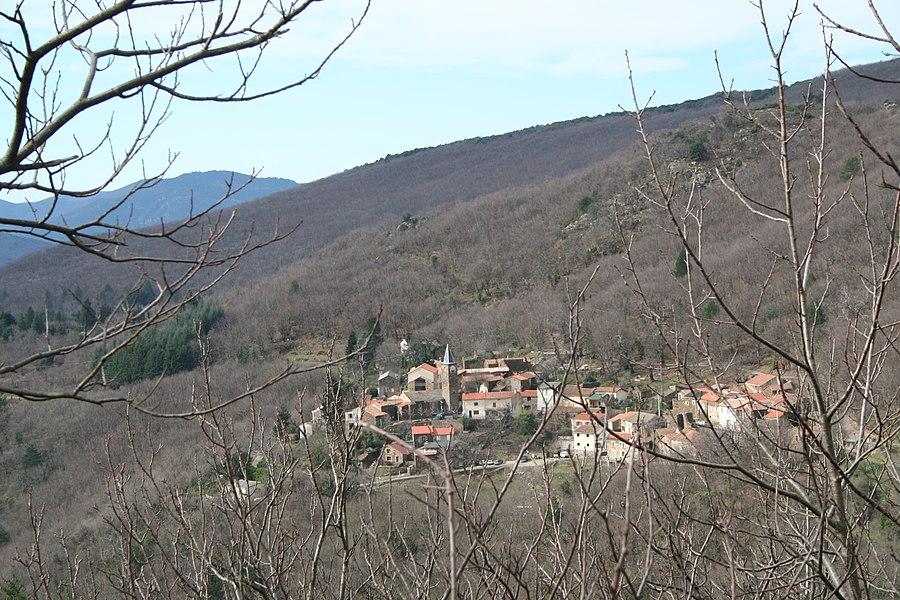 Combes (Hérault) - vue générale.
