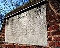 Commemorative stone on Bartholomew Street, Exeter - geograph.org.uk - 726542.jpg