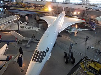 Air France Concorde on display at Steven F. Udvar-Hazy Center Concorde F-BVFA.JPG
