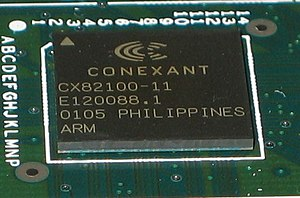 A Conexant ARM processor used mainly in routers
