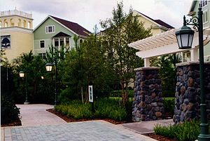 Disney Springs Resort Area - Image: Congress Park, Disney's Saratoga Springs Resort and Spa