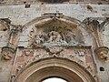 Conjunt escultòric de la portada de l'església de la cartoixa de Valldecrist.JPG