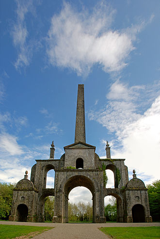 Irish Famine (1740–41) - The Conolly Folly, built in 1740 to give employment to local workers