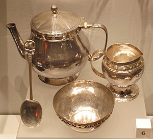 John Paul Cooper - A tea service designed by John Paul Cooper