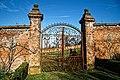 Copped Hall kitchen walled garden south gateway Essex, England.jpg