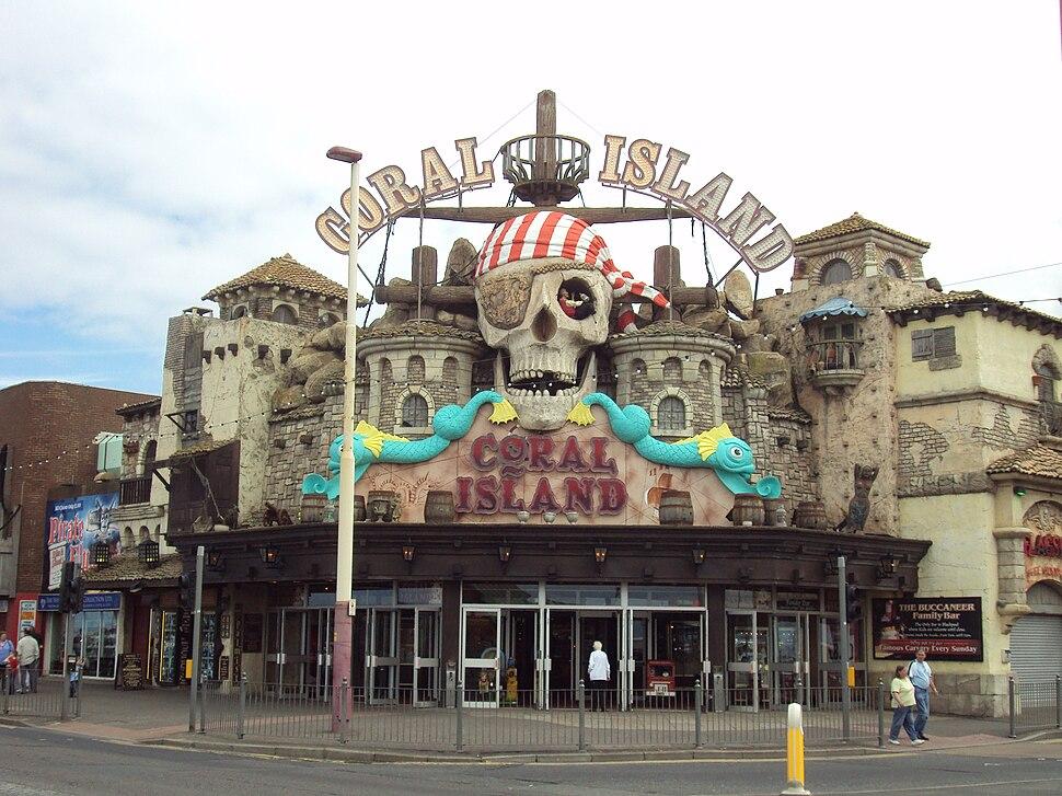 Coral Island amusements, Blackpool - DSC07061