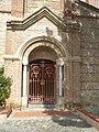 Corneilla-del-Vercol - Eglise Saint-Christophe - Portail.JPG