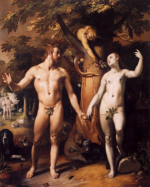 File:Cornelis Cornelisz. van Haarlem - The Fall of Man - WGA05250.jpg