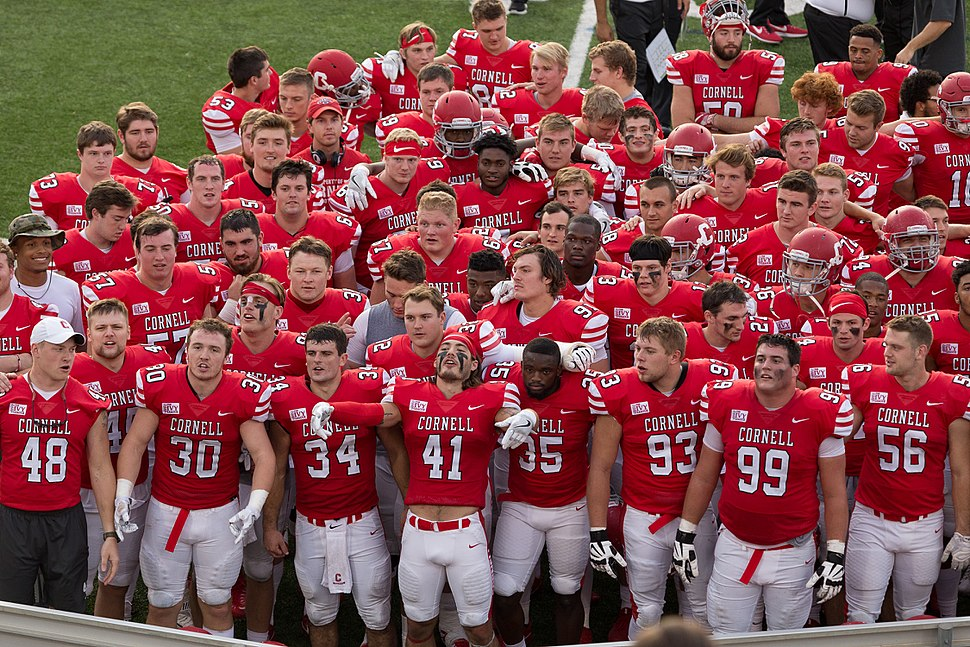 Cornell University Mens football team 2017