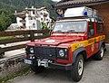 Corpo Nazionale Soccorso Alpino e Speleologico — Land Rover Defender Falcade 20170814 .jpg