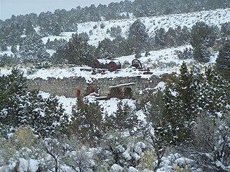 Cortez, Nevada - Image: Cortez Mill Complex Tier C
