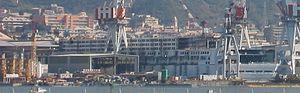 Costa Pacifica - Costa Pacifica Under Construction.