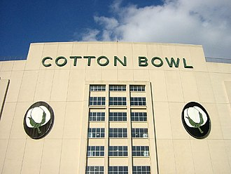 Dallas Cowboys - The main entrance of the Cotton Bowl