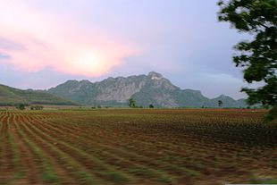 Countryside in Sa Kaeo Province