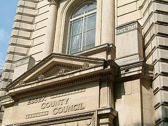 Essex County Council - Image: County Hall Chelmsford Essex