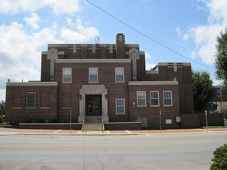 Craighead County, Arkansas - Image: Court house Jonesboro AR 2012 08 26 001