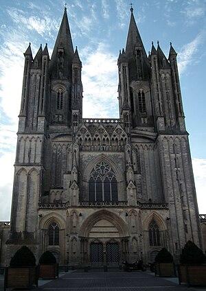 Geoffrey de Montbray - Image: Coutances, Cathédrale Notre Dame 01