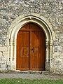 Couze-et-Saint-Front église St Front portail.JPG