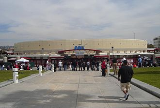 San Diego State Aztecs men's basketball - Cox Arena at Aztec Bowl