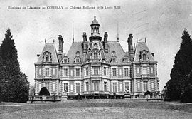 The chateau in Combray, at the start of the 20th century