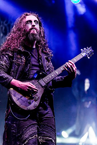 Guitarist Richard Shaw, With Full Force 2018 Cradle Of Filth With Full Force 2018 01.jpg