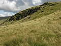 Crag above the track - geograph.org.uk - 961658.jpg