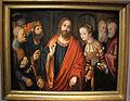 Cranach il vecchio, cristo e l'adultera, 1520, kronach, Fränkische galerie.JPG