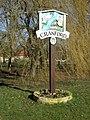 Cranford Village sign - geograph.org.uk - 1179252.jpg